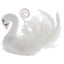 White Glitter Swan Card Holder