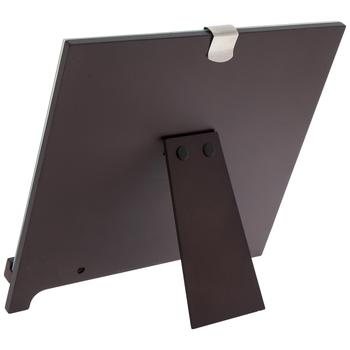 "Walnut Wood Easel Frame - 7"" x 5"""