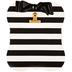 Black & White Striped Clipboard