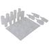 Flat & 3D Pendant Resin Molds