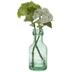 Green & White Hydrangea Arrangement