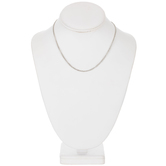 Fine Curb Chain Necklace - 16""