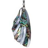 Wing Shell Mosaic Pendant