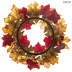 Orange & Red Leaf & Berry Candle Ring