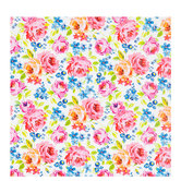Watercolor Flowers Gift Wrap