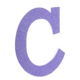 Glitter Foam Letter - C