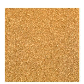 Gold Glitter Iron-On Transfer
