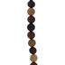 Round Wood Bead Strand - 10mm