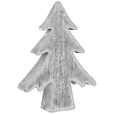 Distressed Galvanized Metal Christmas Tree - Small