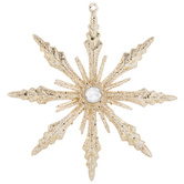 Scalloped Snowflake Ornament