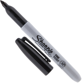 Black Sharpie Fine Point Marker