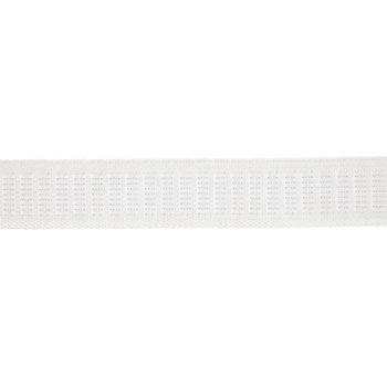"""White Non-Roll Woven Elastic - 3/4"""""""