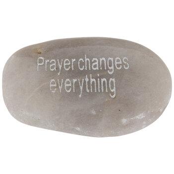 Prayer Changes Everything Garden Stone