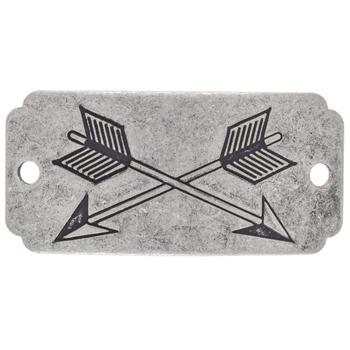 Crossed Arrows Focal Pendant