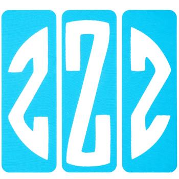 Circular Monogram Screen Stencils - Z