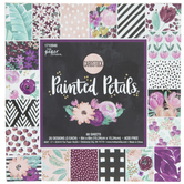 "Painted Petals Cardstock Paper Pack - 6"" x 6"""