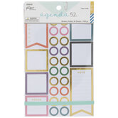 Borders Foil Planner Stickers