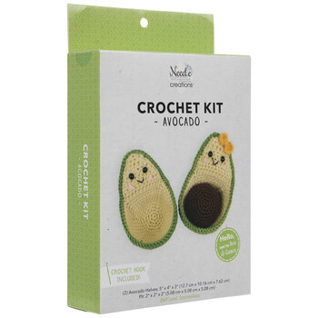 Avocado Crochet Kit