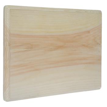 "Rectangle Wood Plaque - 9"" x 12"""