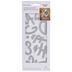 Uppercase Script Alphabet & Flowers Dies