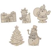 Christmas Character Wood Craft Kit