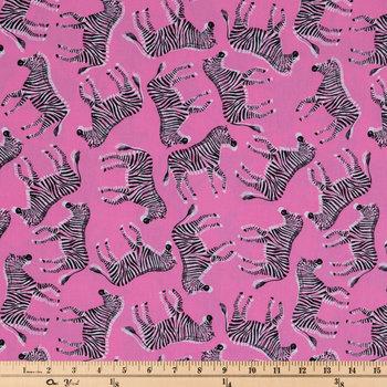 Hot Zebra Apparel Fabric