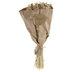 White Flower & Dried Wheatgrass Bundle