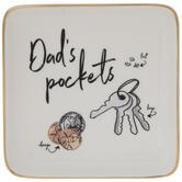 Dad's Pockets Jewelry Dish