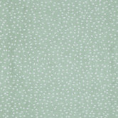 Sage & White Soft Spots Apparel Fabric