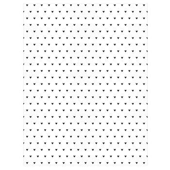 "Basic Hearts Scrapbook Paper - 8 1/2"" x 11"""