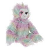 Rainbow Shaggy Sloth Plush
