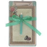 Sewing Clipboard With Pen & Notepad