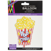 Foil Popcorn Balloon