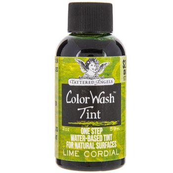 Lime Cordial Tattered Angels Color Wash Tint