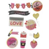 Be Mine Valentine 3D Stickers