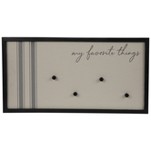 My Favorite Things Magnetized Memo Board