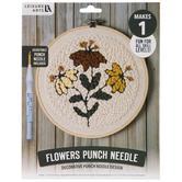 Flowers Punch Needle Kit