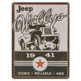 Jeep Willys 1941 Magnet