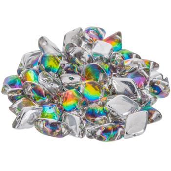 Gemduo Czech Glass Beads - 8mm x 5mm