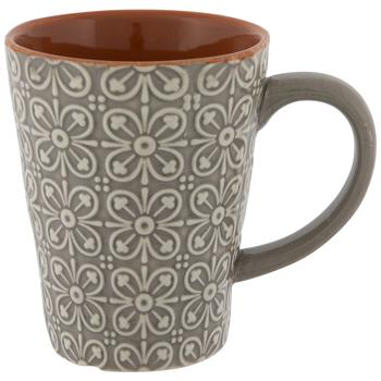 Ornate Embossed Mug