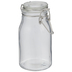 Milk Bottle Glass Mason Jar
