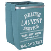 Turquoise Deluxe Laundry Basket