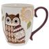 Brown Owl Textured Mug
