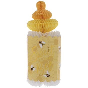 Sweet As Can Bee Honeycomb Bottle Centerpiece