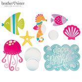 Under The Sea Birthday Cutouts