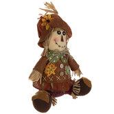 Sitting Scarecrow Girl