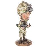 Military Bobble Head