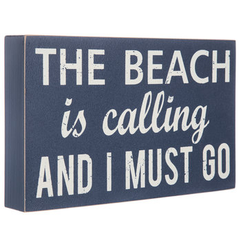 The Beach Is Calling Wood Decor