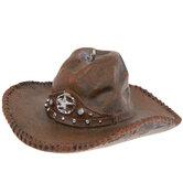 Dark Brown Cowboy Hat Ornament