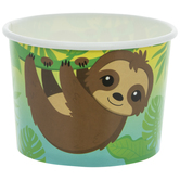 Sloth Paper Snack Cups